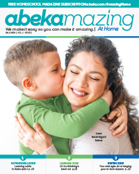 Abekmazing Homeschool Fall 2020 Issue