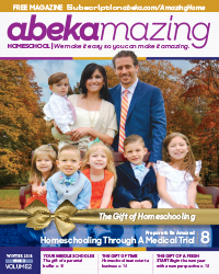Abekmazing Homeschool Winter 2018 Issue
