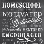 Homeschool Inspirational Poster Download
