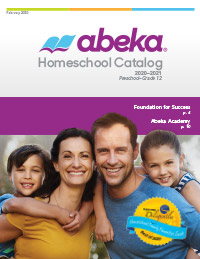 Abeka Homeschool Catalog Cover 2020