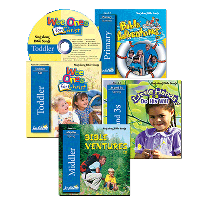 Sing-along Bible Songs CDs
