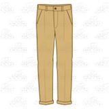 Abeka | Clip Art | Dress Pants—khaki