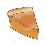 Pumpkin Pie Slice 1