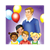 Birthday Party Color PNG