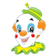 Happy Clown with a smile