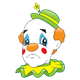 Sad Clown with a frown