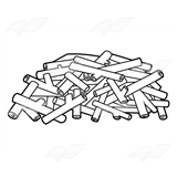 Abeka | Clip Art | Sticks Pile