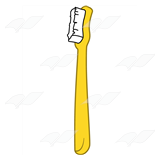 Yellow Toothbrush