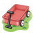 Red Wagon Color PNG