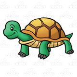 Standing Turtle