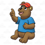 Pointing Bear