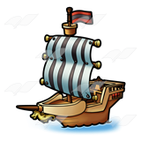 Old-Fashioned Ship
