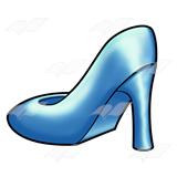 Blue Dress Shoe