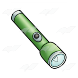 Green Flashlight
