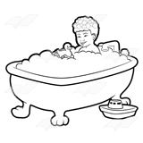 Boy in Tub