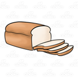 Sliced Loaf of Bread