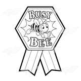 Busy Bee Ribbon