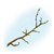 Budding Branch Color PNG