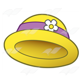 Yellow Lady's Hat