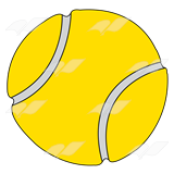 Abeka Clip Art Yellow Tennis Ball