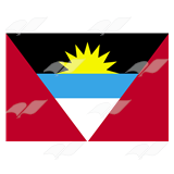 Antigua and Barbuda Flag