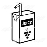 Grape Juice Box