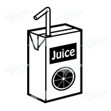 Orange Juice Box