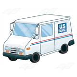 US Mail Truck