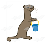 Brown Otter