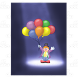 Clown in Spotlight
