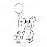Bear with Balloon