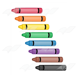 Eight Crayons