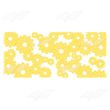 Yellow Daisy Pattern