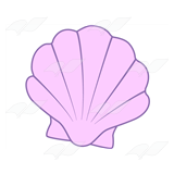 Purple Seashell