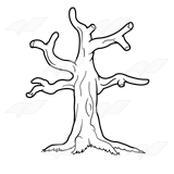 Abeka Clip Art Tree Without Leaves