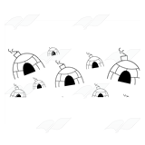 Igloos Background