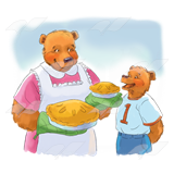 Bears with Pies