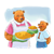 Bears with Pies Color PNG