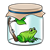 Toad in a Jar Color PNG