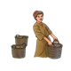 Boy Holding Basket with two other baskets