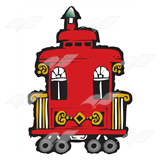Red Train Caboose