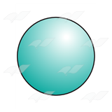 Turquoise Ball