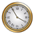 Gold Clock Color PNG