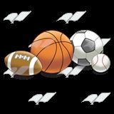 Abeka | Clip Art | Balls—football, basketball, soccerball ...