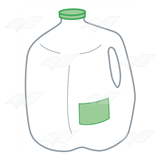 Gallon Milk Jug