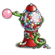 Gumball Machine with two lizards