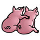 Pig Couple