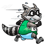 Racing Raccoon