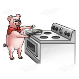 Pig Cooking