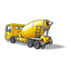 Cement Truck yellow